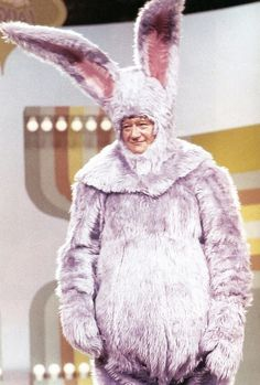 john wayne in a bunny suit - Google Search