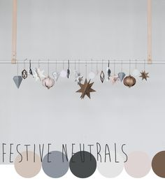 Seasonal colour inspiration from the X-MAS collection by Ferm Living, curated by Emma Lamb