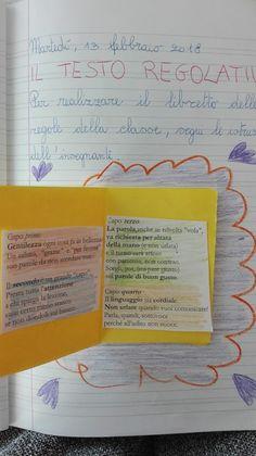 Testo regolativo - Classe Terza- Italiano- Febbraio - Maestra Anita Bullet Journal, 3, Flora, Geography, Alphabet, Teachers, Sapphire, Plants
