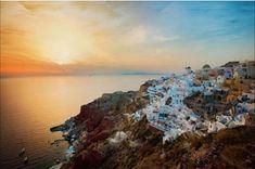 Santorini, sunset, Greece