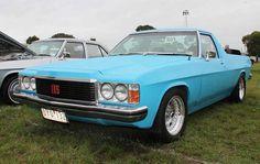 #Blue Holden Ute