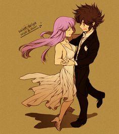 Seiya e Saori