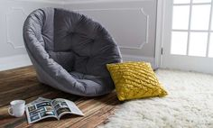Comfy chair for the guest room