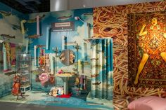 seletti, gufram and TOILETPAPER present their surreal 'maze of quotes' installation at fondation beyeler during the art basel in miami beach. Art Basel Miami, Surreal Art, Best Artist, Visual Merchandising, Installation Art, Art Direction, Surrealism, Contemporary Art, Wallpaper