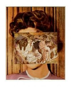 John Stezaker Mask XXIX  2006  Collage  23.5 x 19 cm