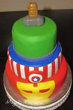 Captain America Cake avenger