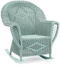 Heirloom Wicker Rocking, Chair  Wicker Home and Patio Furniture