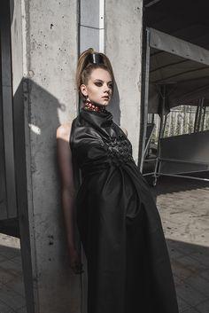Fall - Winter 2017 collection by Dominika Syczyńska, our graduate of #FashionSchool SAPU! :) #polishdesigner #highfashion #fashiondesigner