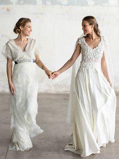 Gorgeous wedding dresses by Katia Delatola - Love4Weddings