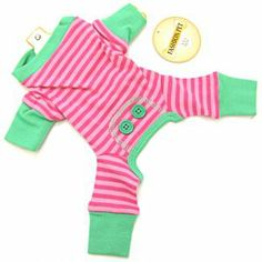 Fashion Pet's Adorable Pink Striped PJ's for dogs is available in t...