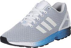 Adidas ZX Flux Schuhe 6,5 white/blue - http://uhr.haus/adidas/adidas-zx-flux-schuhe-6-5-white-blue