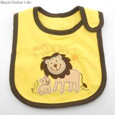 Lovely Cute Cartoon Animal Baby Infant Toddler Boy Girl Kids Child Waterproof Cotton Bandana Bibs baberos bebes Burp Cloths #II