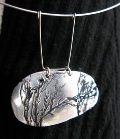 Necklace, ACS, from Šumava forrest Silver Jewelry, Clay, How To Make, Art, Ideas, Clays, Art Background, Silver Jewellery, Kunst