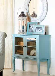 Toscana Cabinet - Blue - Home Decor Furniture Ideas