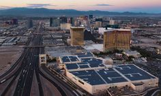 The largest rooftop solar array in the United States is atop the newly expanded convention center at Mandalay Bay Resort and Casino in Las Vegas, Nev.