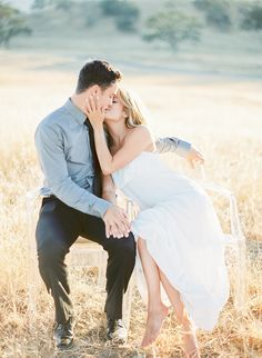 This love shoot quickly became an engagement as the beautiful couple were engaged the next day! They can look back on their picnic engagement photos in Santa Margarita with extra fond memories.