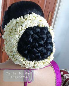 Bridal Hair Buns, Beautiful Buns, Big Bun, Indian Wedding Hairstyles, Desi, Feminine, Hair Styles, Beauty, Dresses