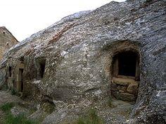 Iglesia rupestre de San Miguel Campoo Cantabria Spain (chruch)