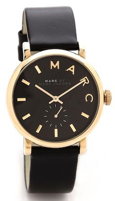 Stylish all black watch