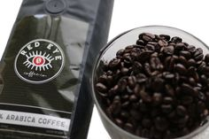 The finest Arabica beans known to man. Have your choice of whole bean or ground, just click the link. Red Eye Coffee, Thing 1, Dark Roast, Red Eyes, Gourmet Recipes, Beans, Link, Tableware, Food