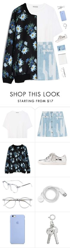 """Blue flower"" by genesis129 ❤ liked on Polyvore featuring Vince, Kenzo, Chicwish, Charlotte Russe, Wildfox, FOSSIL and vintage"