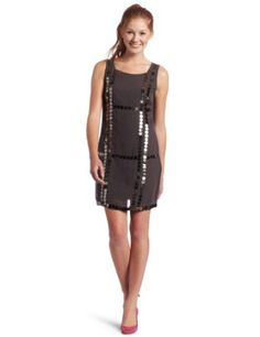 As U Wish Juniors Sleeveless Sheath Dress with Trim Review
