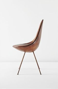 "ARNE JACOBSEN - Rare and important ""Drop"" chair, ca. 1958"