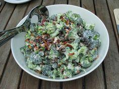 Opskrift - Louises broccolisalat (med billede, afprøvet af Anja)
