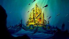 Disney – Linn in Wonderland Little Mermaid Castle, Melody Little Mermaid, Little Mermaid Movies, Ariel Castle, Little Mermaid Tattoos, Cute Laptop Wallpaper, Castle Tattoo, Epic Mickey, Disney Artwork