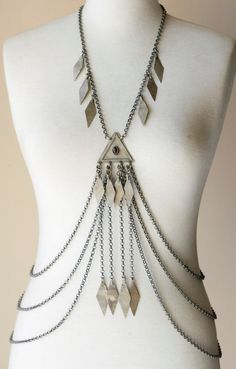 Gorgeous body chains/harness ♡