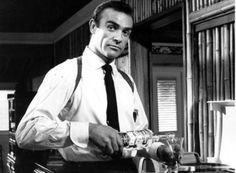 Three of my favorite things: Sean Connery, Martinis, and Science (not necessarily in that order) :-)