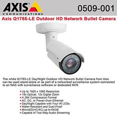 Axis Communications 0509-001 Day/Night Outdoor HD Network Bullet Camera #Axis #Communications #Day/Night #Outdoor #Network #Bullet #Camera