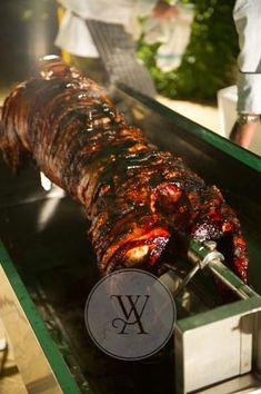 late night hog roast for a wedding A country house wedding organised by White Avenue www.whiteavenue.co.uk