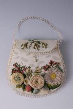 Silk ball handbag 1799, Poland