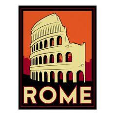 Vintage Poster - Rome