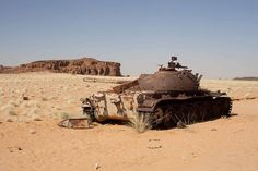 https://flic.kr/p/ceZEsq | 097 tank from Chad Libya war
