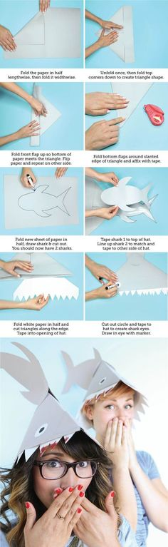 Literally Nothing is Better Than This Shark Hat DIY -