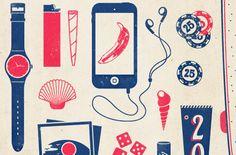 Good Bye Summer Poster by Emiliano Aranguren, via Behance