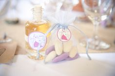 Wedding deco table - Guest gifts Laura Delune Photography