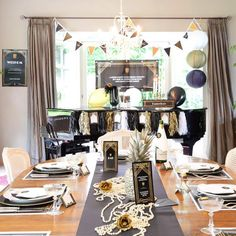 Ultimate Box | Roaring Twenties #verjaardag #housewarming #birthday #partybox #greatgatsby #party #Beaublue