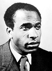 Frantz Fanon (July 20, 1925 – December 6, 1961) was a Martinique-born French-Algerian psychiatrist, philosopher, revolutionary and writer whose work is influential in the fields of post-colonial studies, critical theory and Marxism. Fanon is known as a radical existential humanist thinker on the issue of decolonization and the psychopathology of colonization.  Fanon supported the Algerian struggle for independence and became a member of the Algerian National Liberation Front.