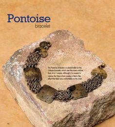 This chain mail project is from our book, Unconventional Chain Mail Jewelry! http://www.kalmbachstore.com/64339.html