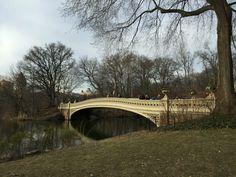 #Bow Bridge #Central Park #New York City #NYC #tourism #travel