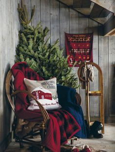 I use to have a vignette like this at the office with Grandmother's sled and sleigh bells.