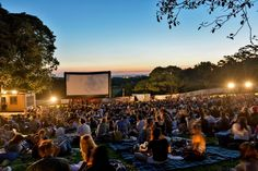 Moonlight Cinema, Royal Botanical Gardens, Melbourne, Australia