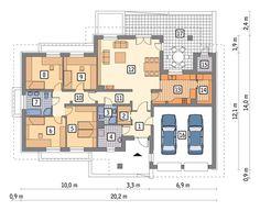 Радостное утро (М119) – проект одноэтажного дома, площадь 173.60 м2. ВПП – проекты и строительство домов и коттеджей в Екатеринбурге