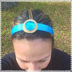 Princess Jasmine running headband 7/8 inches wide non slip by ChickyBands on Etsy https://www.etsy.com/listing/217291165/princess-jasmine-running-headband-78