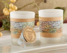 travel-themed-wedding-decor-ideas-tealight-wrap-map