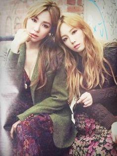 SNSD TTS Tiffany Taeyeon Photoshoot