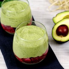 Avocado, Kale, and Cashew Parfait recipe inspired by Paleo & Vegan cheesecake. Healthy dessert or detox!